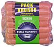 Salchicha frankfurt 7 u Paquete pack 4 x 176 g - 704 g Hacendado