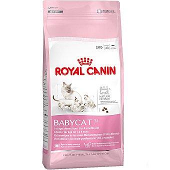 ROYAL CANIN BABYCAT Alimento especial para gatitos de 1 a 4 meses bolsa 2 kg Bolsa 2 kg