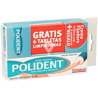 Crema fijadora original para prótesis dentarias