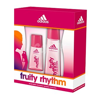 Adidas Estuche colonia FRUITY RHYTHM spray 75 ml. + 30 ml.  1 ud
