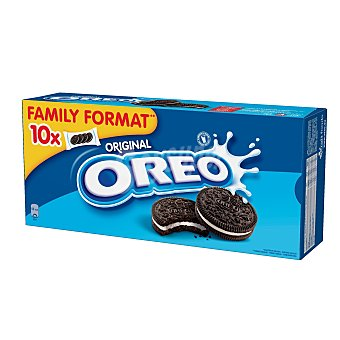 OREO galletas de chocolate rellenas de crema formato familiar  Pack de 44x10GR