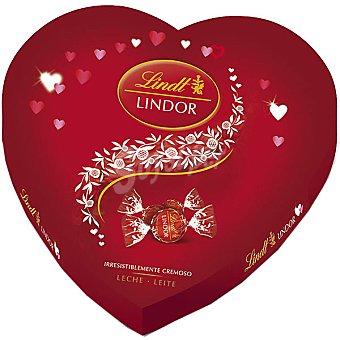 Lindt Corazón de San Valentín bombones de chocolate con leche Caja 250 g