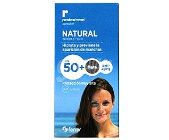 NATURAL Protector solar FP50 (protección muy alta), hidrata y previene la aparición de manchas 50 Mililitros