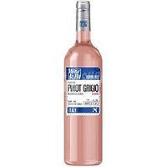 WINE&FLY Vino Rosado Pinot Grigio Blush Botella 75 cl