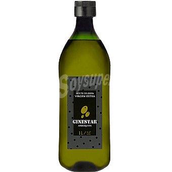 GINESTAR Aceite de oliva virgen extra Arbequina Botella 1 l