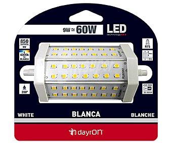 DAYRON Bombilla led lineal 9 Watios, casquillo R7S, luz blanca 1 Unidad