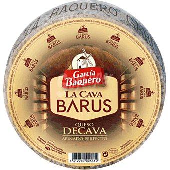 García Baquero Queso curado de cava La Cava Barus 2 kg peso aproximado pieza