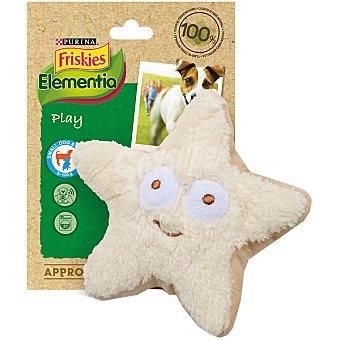 FRISKIES ELEMENTIA juguete con forma de estrella para perros pequeños  1 unidad