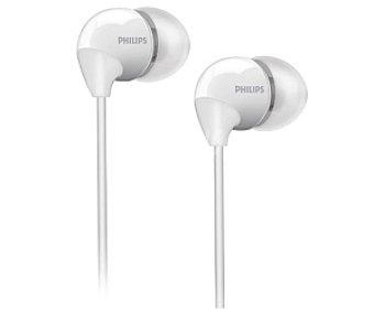 PHILIPS SHE3595WT/00 Auriculares tipo Intrauricular Blanco, con cable y micrófono