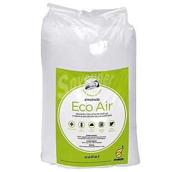 Mash Kol Eco Air almohada de fibra con relleno efecto muelle y gran evacuacion de la humedad 70 cm