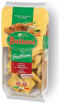 Buitoni Tradizioni ravioli relleno de carne al brasato 2 raciones Envase 230 g