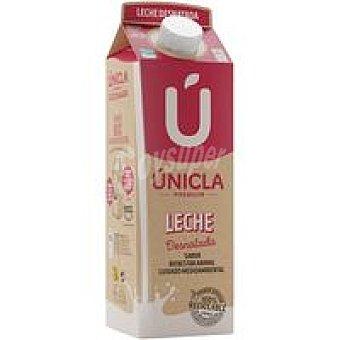Únicla Leche desnatada Brik 1 litro