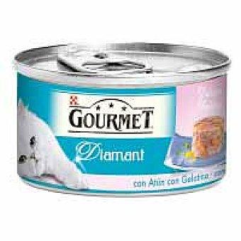 Purina Gourmet Láminas de atún en gelatina Diamant Lata 85 g
