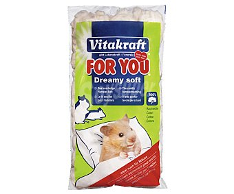 For You Vitakraft Algodón 100% natural para hámster 20 gramos