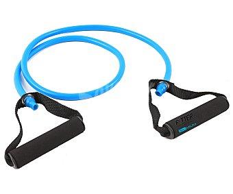 FYTTER Cinta elástica para fitnees, fabricada en goma de color azul y ajustable a distintas alturas 1 Unidad
