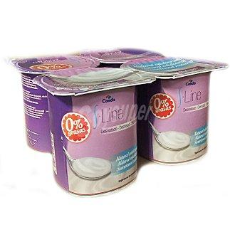S.LINE Yogur desnatado edulcorado 4 UNI
