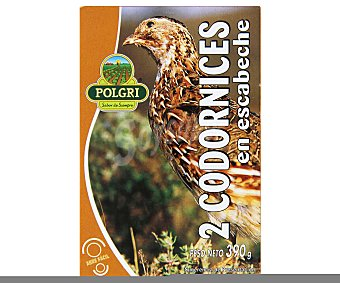 Polgri Codornices en escabeche 390 g