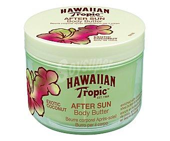 Hawaiian Tropic Crema corporal after sun, fragancia coco 400 mililitros