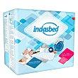 Protector de cama absorbente 90X60 cm 20 unidades IndasBed