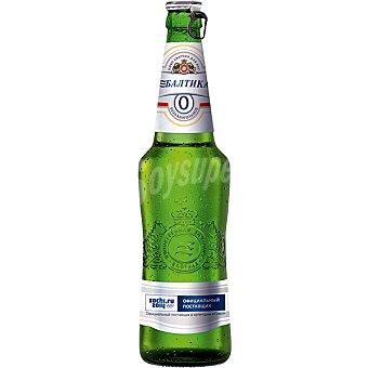Bajithka Cerveza sin alcohol rusa Botella de 50 cl