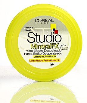 L'Oréal FX pasta efecto despeinado con minerales extra-fuerte 24h STUDIO LINE Mineral Tarro 75 ml