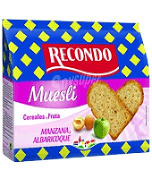 Recondo Pan tostado Muesli con cereales y fruta 20 unidades 180 g