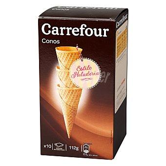 Carrefour Conos para helados Caja de 10 unidades