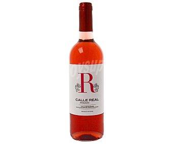 Valdepeñas Vino rosado con denominación de origen calle real Botella de 75 cl