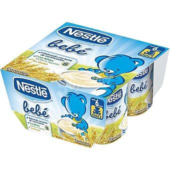 Nestlé Yogur con cereales Bebé ds. 100 g Pack 4 un