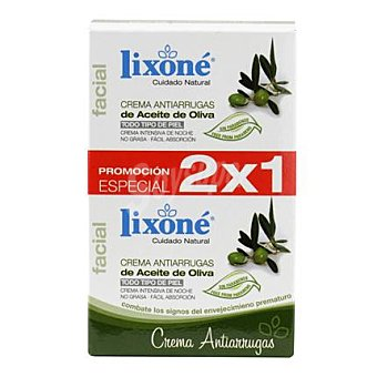 Lixone Crema antiarrugas de aceite de oliva 50 ml