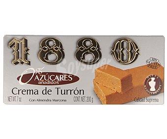 1880 Crema de turrón sin azúcares añadidos Tableta 200 g