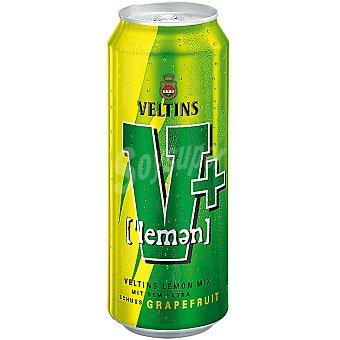 VELTIS V+ Combinado de cerveza y refresco con sabor cítrico Lata 50 cl