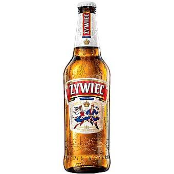 ZYWIEC cerveza rubia polaca Pilsen  botella 50 cl