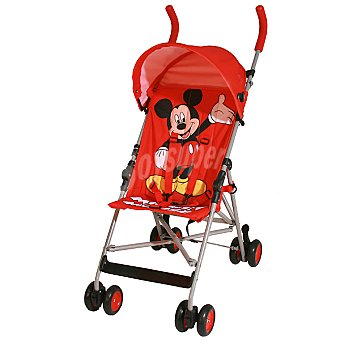 DISNEY Mickey silla de paseo fija en color rojo