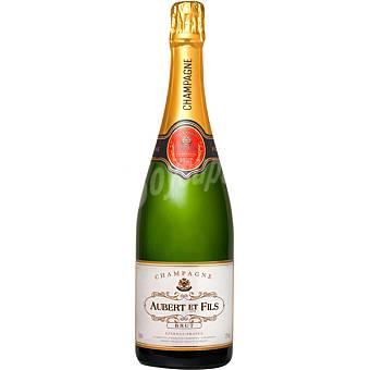 AUBERT ET FILS champagne brut botella 75 cl Botella 75 cl
