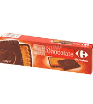Carrefour Galletas con chocolate negro 125 g