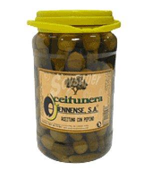 Aceitunera Jiennense Aceituna con pepinillos extra 800 g