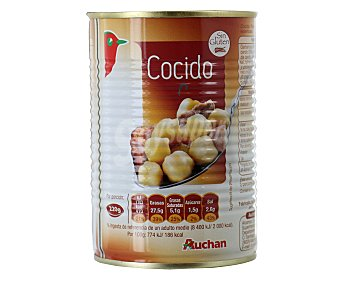 Auchan Cocido madrileño preparado Lata de 440 gramos