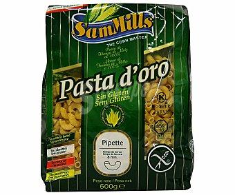 SAM MILLS Pipette, pasta de harina de maíz sin gluten 500 gramos