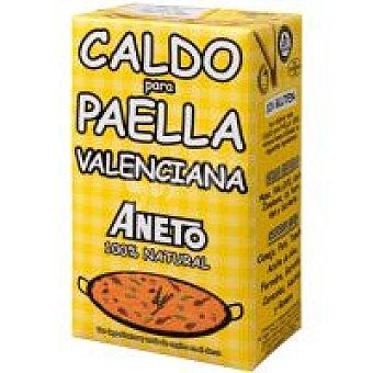 Aneto Caldo natural para paella valenciana Brik 1 litro