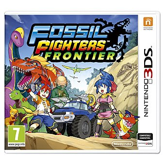 Videojuego Fossil Fighters Frontier para 3DS
