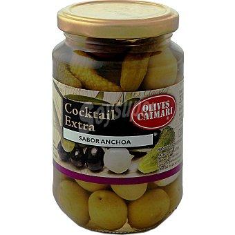 Caimari Cóctel extra de aperitivos sabor anchoa Frasco 250 g neto escurrido