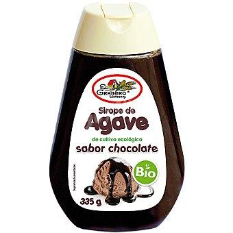 BIOGRAN EL GRANERO Sirope de ágave sabor chocolate ecológico Envase 335 g