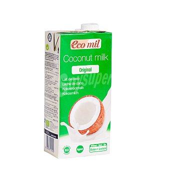Ecomil Bio Original leche de coco sin gluten y sin lactosa ecológica Envase 1 l