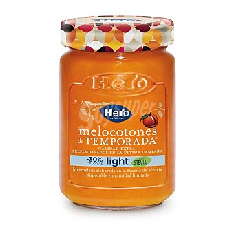 Hero Mermelada de melocotón de temporada light 335 g