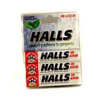 Halls Caramelos eucaliptos-mentolado sin azúcar Bolsa 101 g