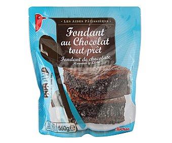 Auchan Masa para preparar bizcocho fondant de chocolate 550 gramos