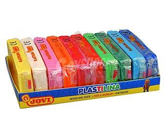 Jovi Taco de plastilina de y de 15 colores diferentes jovi 350 g
