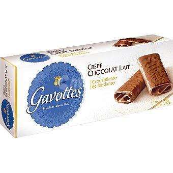 GAVOTTES Galletas bañadas de chocolate con leche Estuche 90 g