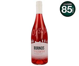 Bornos Vino rosado frizzante Botella de 75 centilitros